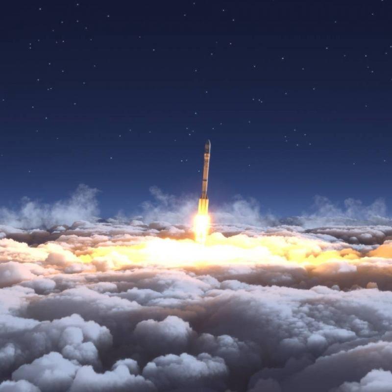 Een blik vanuit de ruimte